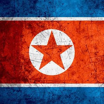 észak-koreai zászló