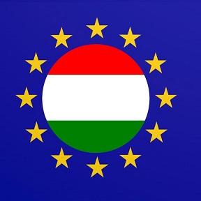 EU és magyar zászló