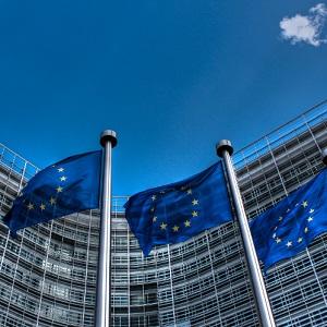 EU zászlók