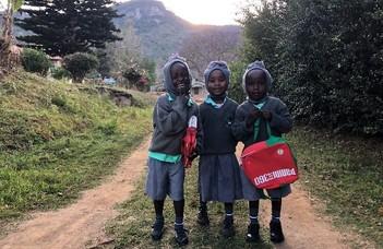Önkéntesként egy kenyai árvaházban