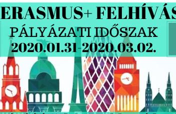 Erasmus+ hallgatói mobilitási pályázat
