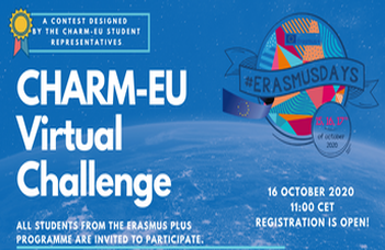 Charm-EU Organises Its First Virtual Challenge to Celebrate Erasmus Days