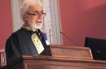 Fokasz Nikosz a Nemzeti és Kapodistrias Egyetem díszdoktora
