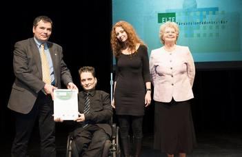 A Fogyatékosság-barát Munkahely elismerést nyert a TáTK